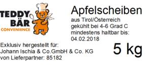 Teddybär Convenience Apfelscheiben